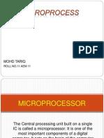 Tariq Microprocessor 2003