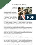 CRISIS POLITICA DEL AÑO 2000