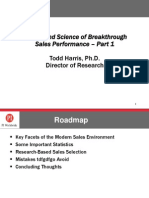 The Art and Science of Breakthrough Sales Performance - Part 1