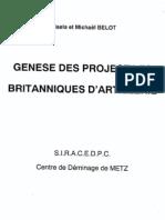 Genese Des Proj Britaniques d'Aie (Oorsprong UK Aie)