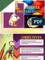 Disaster Preparedness Report