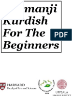 Kurmanji Kurdish For The Beginners