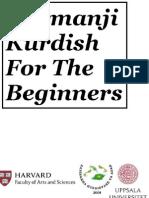 Kurmanji Kurdish For The Beginners
