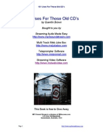 101uses of old CD's
