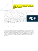 Natural Resources Case Digests