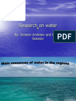Research on Water