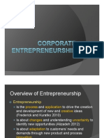 Introduction to Corporate Entrepreneurship by WT