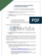 Bases Del Concurso Online de Posters y Material Multimedia