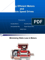 Energy Efficient Motors and Vsd