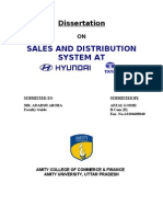 2974. Sales and Distribution System at Hyundai & Tata Motors