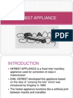 Herbst Appliance Ppt