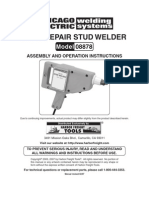 Dent Repair Stud Welder Model 08878