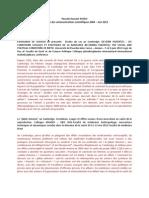 Résumés des communications 2004-Juin 2012