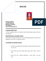 Poonam Resume