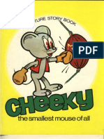 Cheeky, The Smallest Mouse of All - g. Zarafu (Ilustratii de n. Nobilescu, 1979)