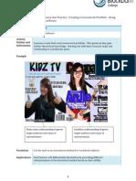 Creating a Coursework Portfolio - Using ICT – DTP software