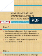 cEA REGULATIONS 2010 (Measures Relating to Safety