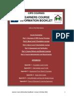 Course Handbook