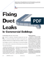 Fixing Duct Leaks