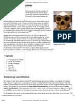 Archaic Homo Sapiens - Wikipedia, The Free Encyclopedia