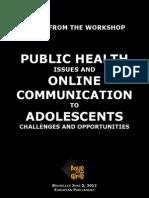 Boys and Girls Workshop Notes June 5