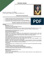 Angelica Melo's CV