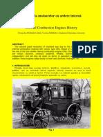 Istoria Motoarelor Cu Ardere Interna