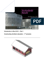 Revit Architecture 2011 Basic Course Final Version