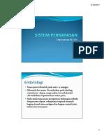 Embriologi Sistem Pernafasan Anatomi Compatibility Mode