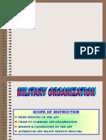 Mil Organization Ms-1