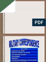 Military Correspondence Ms-1