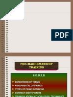 Preparatory Marksmanship Training