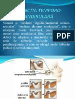Disfunctia Dureroasa Temporo-mandibulara