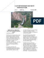 American Penstemon Society November Newsletter Vol 2 @4