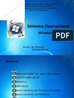 Sistemas Operacionais - Windows