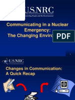Brenner - Communicating in a Nuclear Emergency