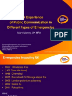 Morrey - Best Practices addressing public concerns during an emergency