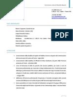 Curriculum Vitae di Daniele Bassan