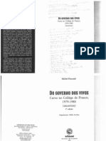 Do governo dos vivos Curso no Collège de France 1979-1980 (excertos)
