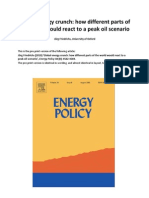 Global Energy Crunch