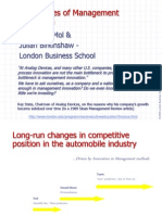 Sources of Management Innovation - London Business School