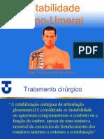 INSTABILIDADE GLENO UMERAL-TRATAMENTO CIRURGICO