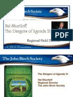 Agenda 21 Slide Presentation by Hal Shurtleff