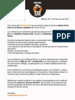 Invitación prensa Festival132