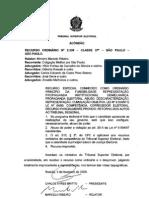Causa Madura Tse Precedente RO 2339 SP 05.02