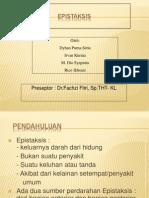 Presentasi Referat Epistaksis Kt