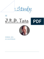 Case Study on J R D Tata