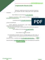 Sustituir CD Por Pronombre 2o ESO