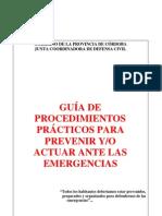 Emergencias-Guia de Procedimientos ante las emergencias