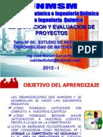 ELABORACION Y EVALUACION DE PROYECTOS  - CLASE Nº 05